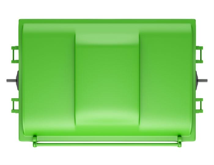 Green Skip Bin Lid